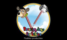 Bouncing dogs for babies