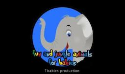 Fun and jungle animals for babies